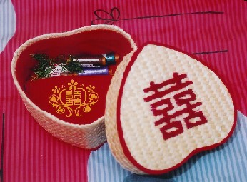 dowry sewing basket