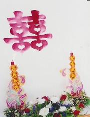 burning of phoenix candles on wedding day