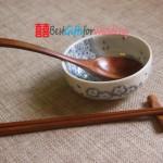 Engraved Wooden Chopsticks & Spoon Set_4