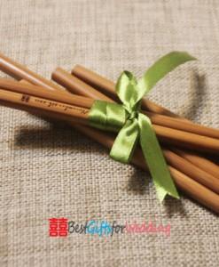 engraved bamboo chopsticks