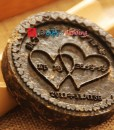 Chinese Style Wedding Favor Personalized Tea Coin