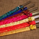 Engraved-Korean-Stainless-Steel-Chopsticks-with-Silk-Pouch_2