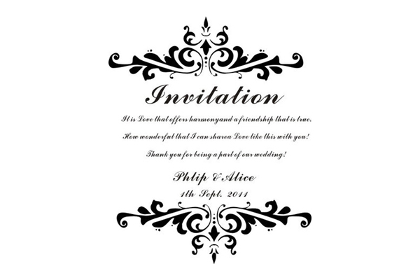Personalized Rubber Stamps For Wedding Invitations: Personalized Rubber Stamp For Wedding Invitation