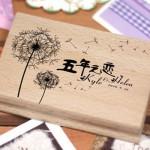 Wedding-Rubber-Stamp-for-Wedding-Invitation-Card—[Love-Dandelion]-DIY-Wedding-Invitation_2