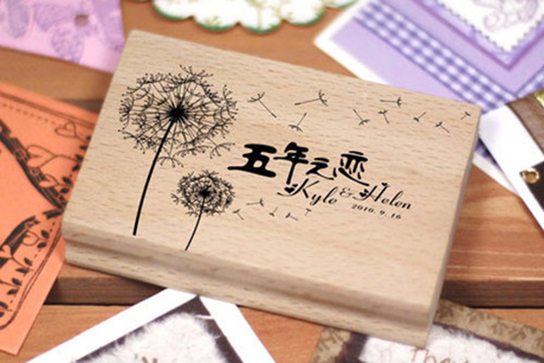 Going Rate For Wedding Gift Money 2015 : Wedding Rubber Stamp for Wedding Invitation Card - [Love Dandelion ...
